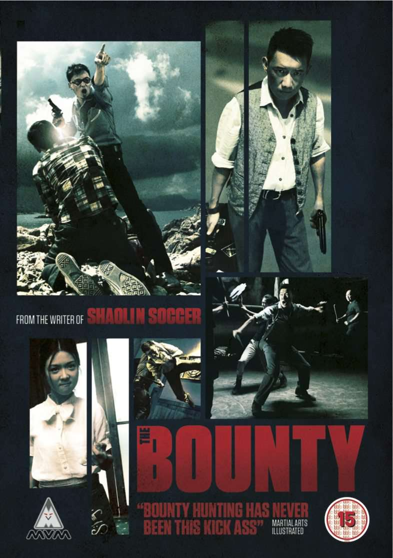 THE BOUNTY, fung chih chiang, fiona sit, alex man, action comedy, shaolin soccer