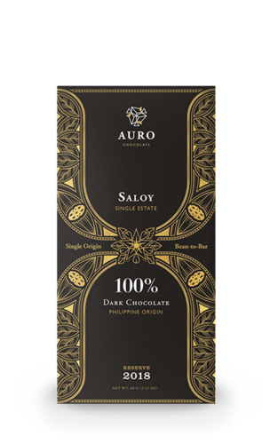 100% Dark Chocolate Saloy 60g