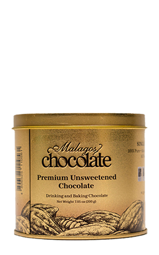 100% Pure Unsweetened Chocolate 200g tin