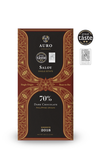 70% Dark Chocolate Saloy 60g