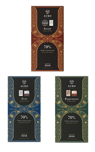 Auro Chocolate's Reserve Collection Gift Set 70% Dark