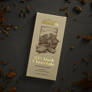 85% Malagos Dark Chocolate 100g