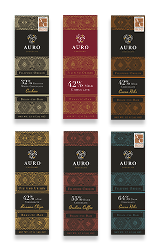 Auro 27g Bars Gift Collection