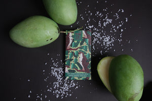 65% Theo&Philo Dark Chocolate w/ Green Mango & Salt 45g