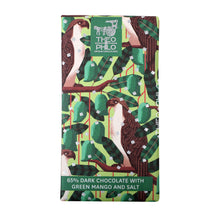 Load image into Gallery viewer, 65% Theo&Philo Dark Chocolate w/ Green Mango & Salt 45g