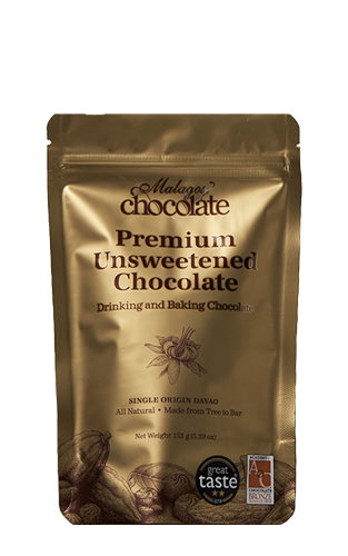 100% Pure Unsweetened Chocolate 153g