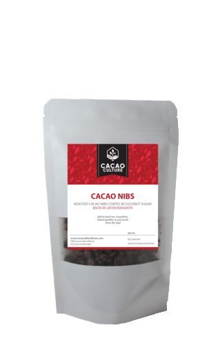 Roasted Cacao Nibs (with coco sugar) 100g