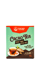 Load image into Gallery viewer, Cacao Tea Box (Chocolate Tea) - 10bags