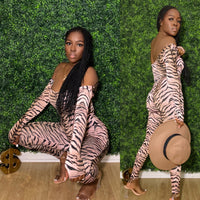 Tiger Stripe Two Piece Set