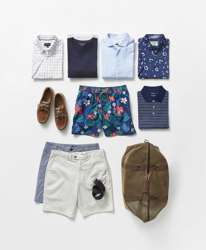 What to pack for a cruise | GAZMAN Cruise Clothing