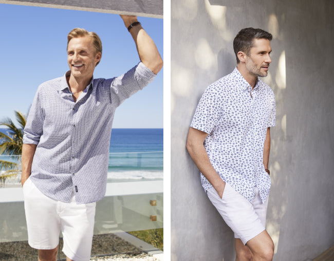 Printed Men's Shirts at GAZMAN
