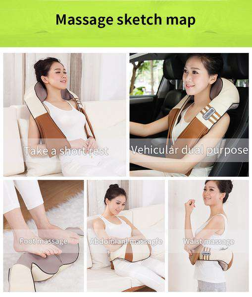 Car/Home Massager Body SPA Infrared 4D