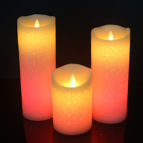 Color change gradient LED candles - SALEONE