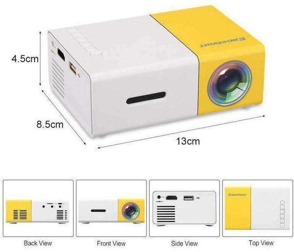 Lumi HD Pro 2.0 Portable Projector