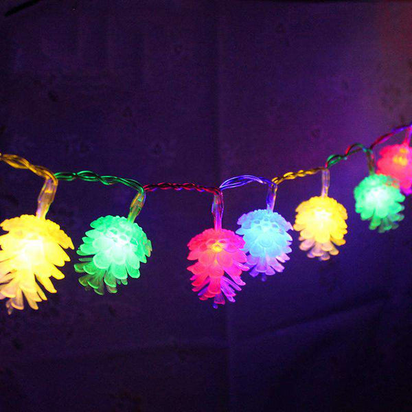 Pinecone LED fairy String Light