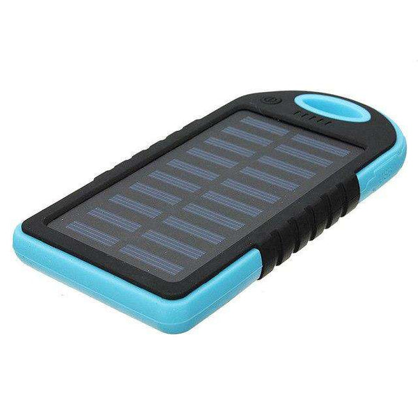Waterproof Solar Power Bank 5000mAh - SALEONE