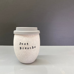 Ceramic Personalised Good Egg 250 mL Stone Keep Cup
