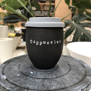 Ceramic Personalised Black Good Egg 250 mL Keep Cup