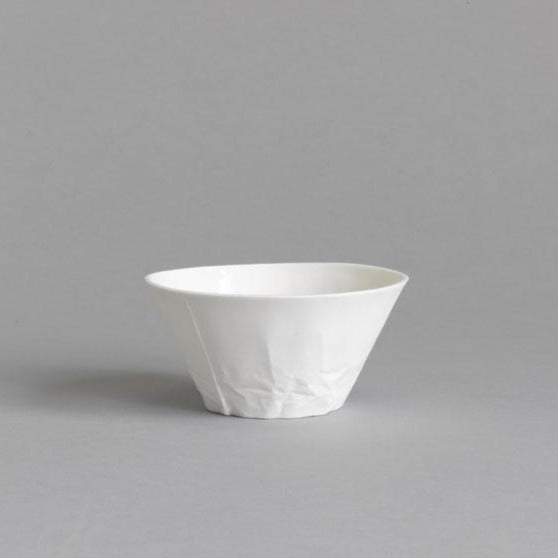 Classic White Ceramic Dessert/Breakfast Bowl - Paper