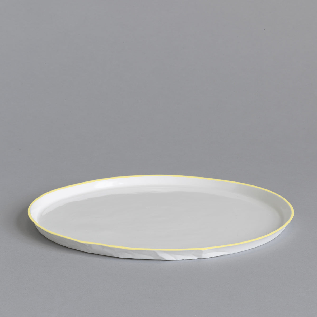 Ceramic Dinner Plate Set of 4 - Paper