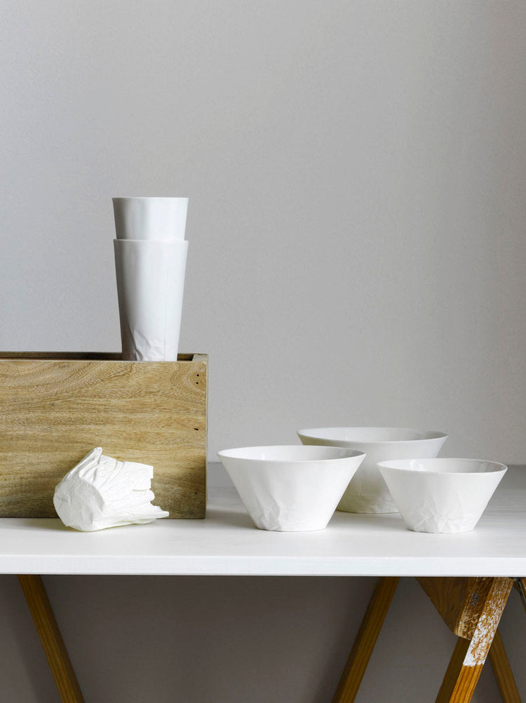 Paper Series Salad Bowl