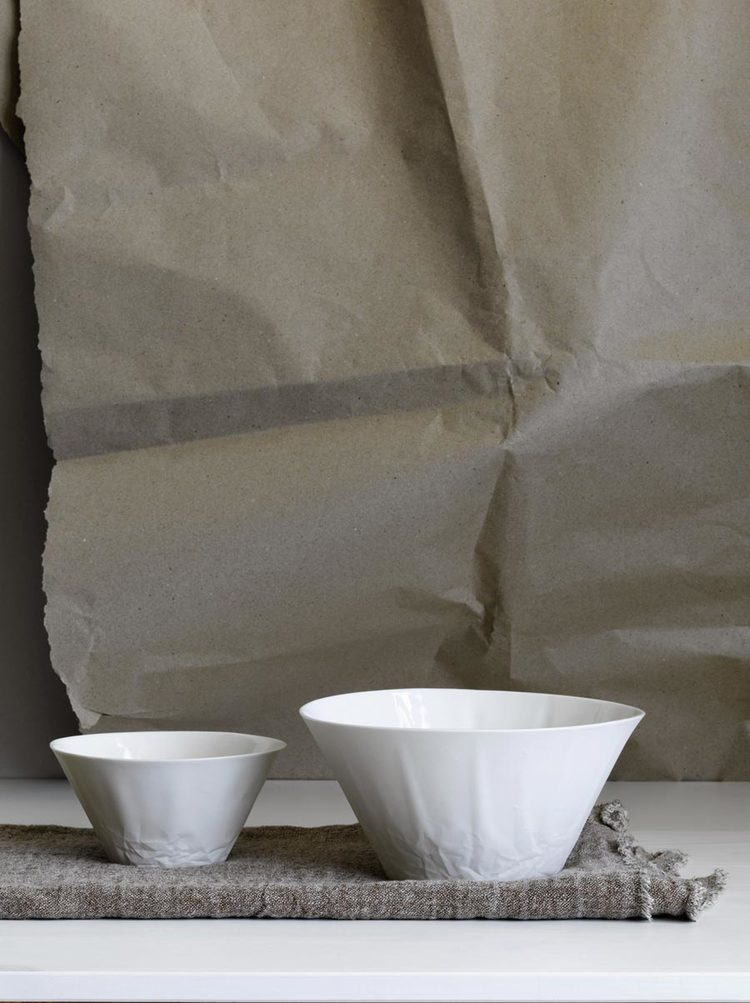 Paper Series Pasta Bowl - Set of 4