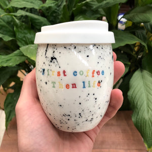Ceramic Personalised Good Egg 350 mL Keep Cup