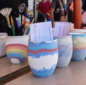Wine and Cheese Night: Paint a Keep cup - Friday April 17th @ 6:15pm