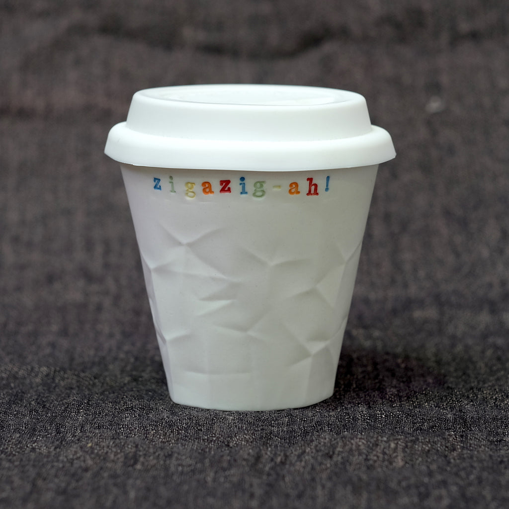 Personalised Paper Series 250 mL Keeper - Rainbow Lettering