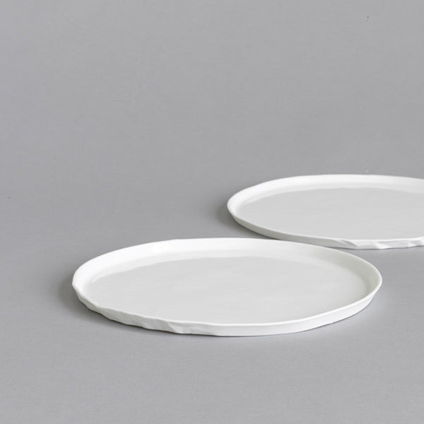 Ceramic Entree Plate Set of 4 - Paper