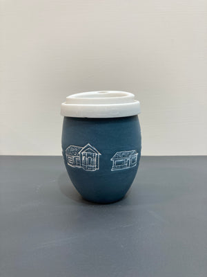 Ceramic Inner West Houses Keep Cup | Hayden Youlley x EmmaJane