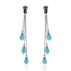 Earrings Ocean Drops 3ΠΛΟ