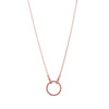 Necklace Rose Gold Circle Of Life