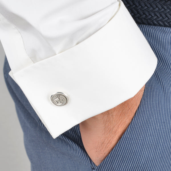 Concentric Cufflinks Owl