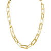 Necklace Yellow Gold Athens Link