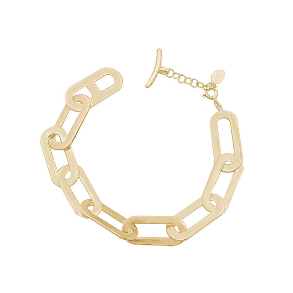 Bracelet Yellow Gold Athens Link