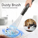 Multi-functional Straw Tube Brush Cleaner Dirt Remover Portable Universal Vacuum Attachment Tools Dusty Brush Cleaning Tool