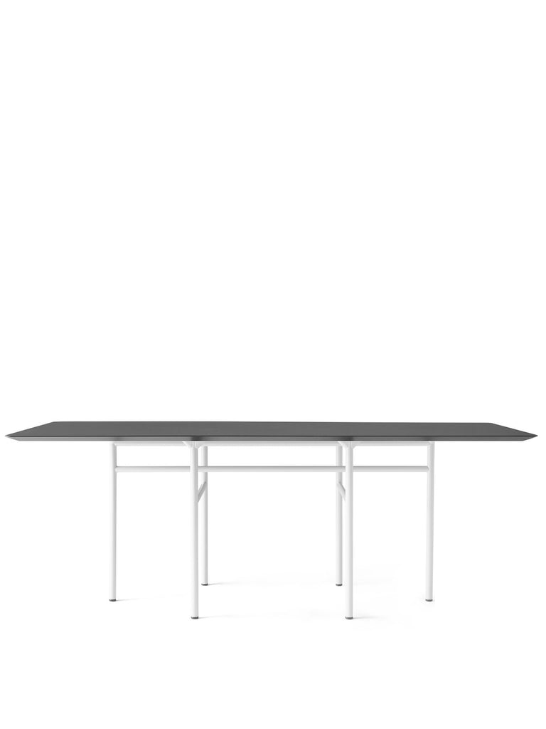 Snaregade Rectangular Table, Mixed Colors-Dining Table-Norm Architects-Light Grey-Charcoal Linoleum-menu-minimalist-modern-danish-design-home-decor