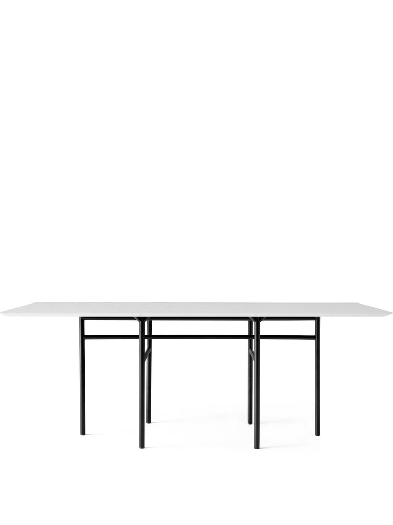 Snaregade Rectangular Table, Mixed Colors-Dining Table-Norm Architects-Black-Light Grey Veneer-menu-minimalist-modern-danish-design-home-decor