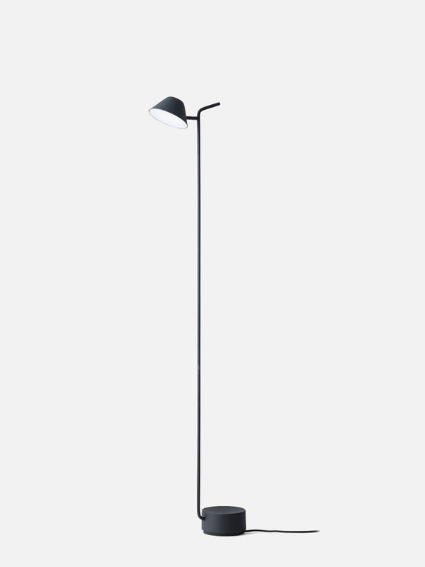 Peek Floor Lamp-Floor Lamp-Jonas Wagell-Powder Coated Black-menu-minimalist-modern-danish-design-home-decor