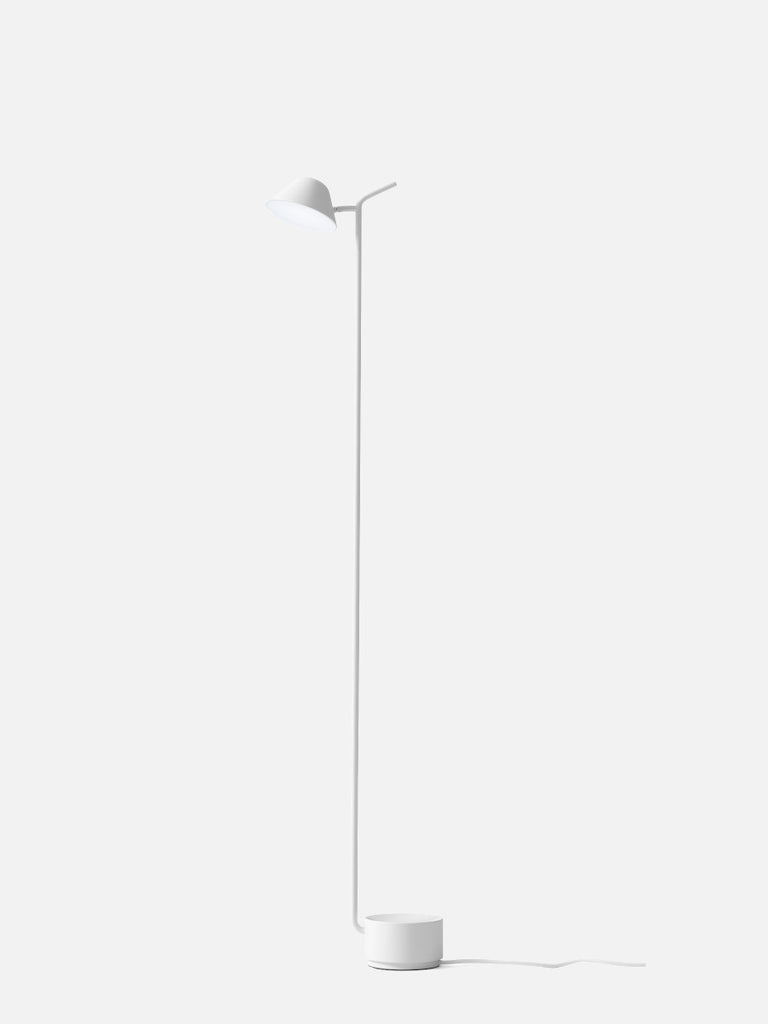 Peek Floor Lamp-Floor Lamp-Jonas Wagell-Powder Coated White-menu-minimalist-modern-danish-design-home-decor