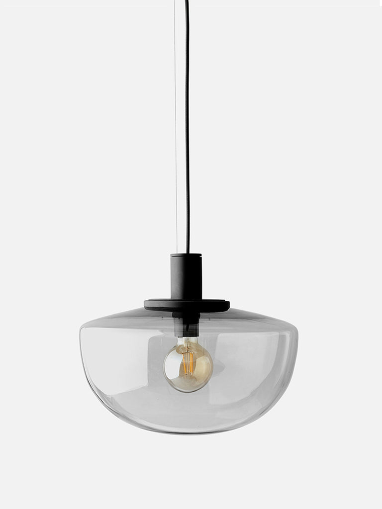 Bank Pendant-Pendant-Norm Architects-Smoked Glass Shade-menu-minimalist-modern-danish-design-home-decor