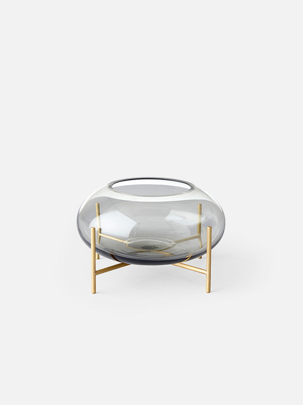 Echasse Hurricane-Hurricane-Theresa Rand-Smoked Glass Shade-menu-minimalist-modern-danish-design-home-decor