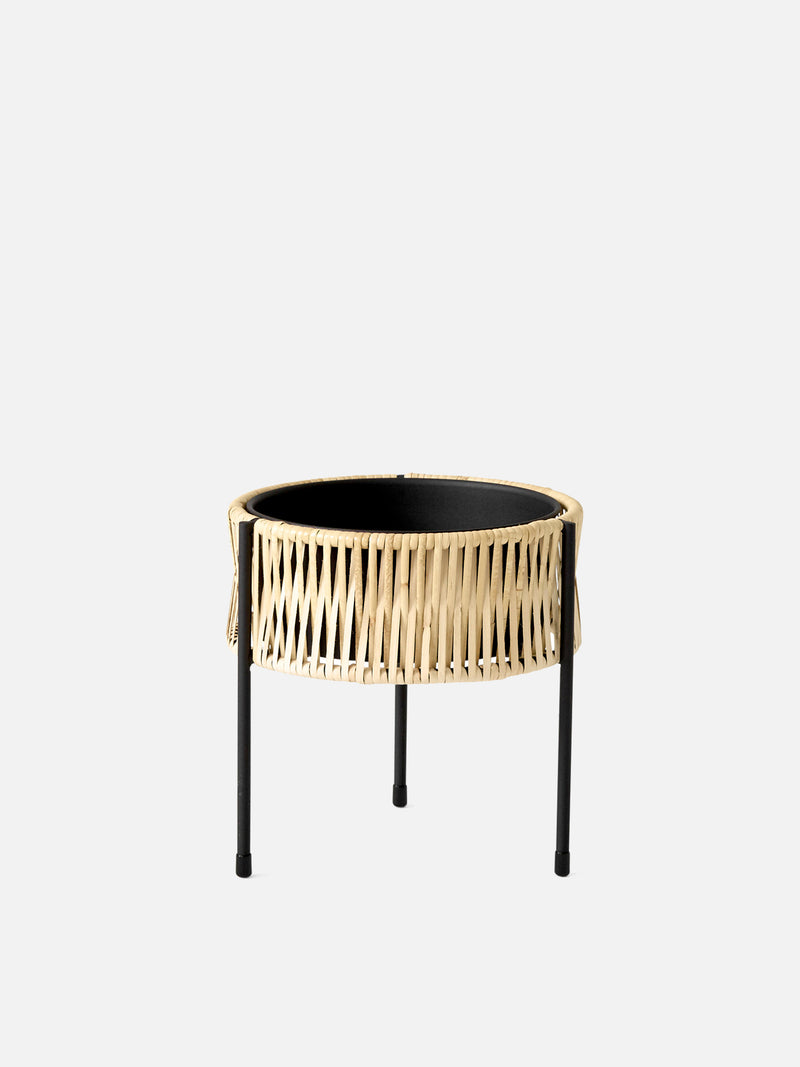 Umanoff Planter-Planter-Arthur Umanoff-Small (11in H)-menu-minimalist-modern-danish-design-home-decor