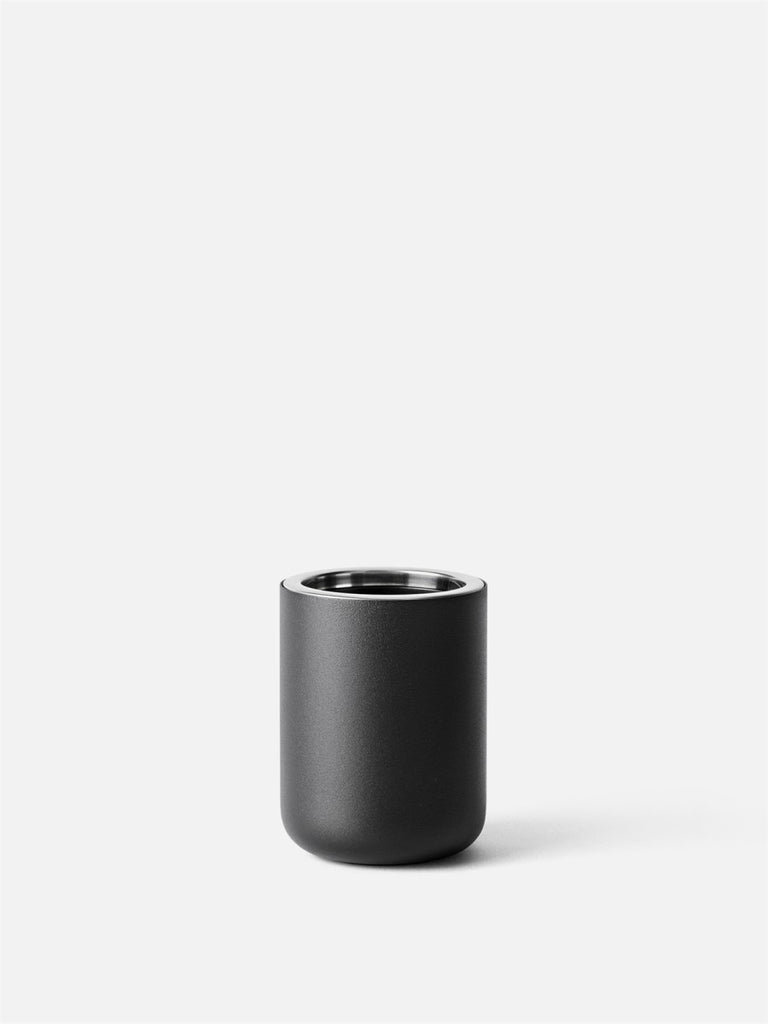 Bath Toothbrush Holder-Toothbrush Holder-Norm Architects-Powder Coated Black-menu-minimalist-modern-danish-design-home-decor