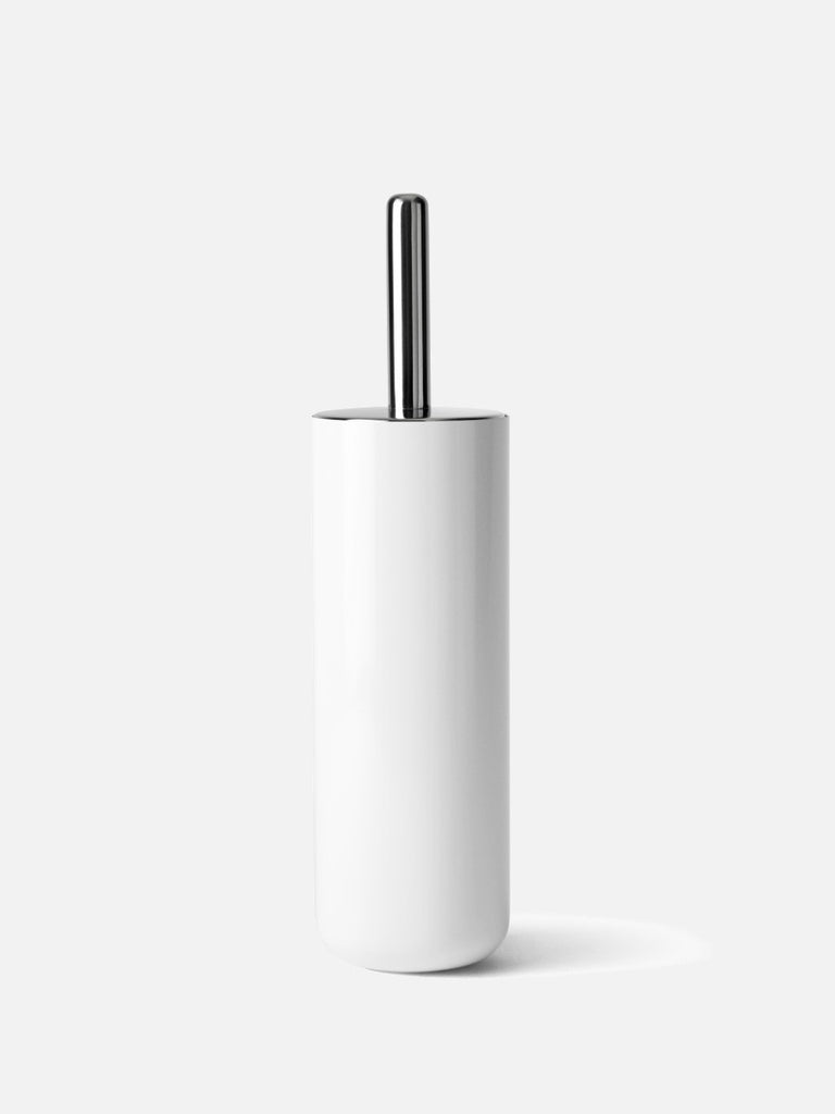 Bath Toilet Brush-Toilet Brush-Norm Architects-Powder Coated White-menu-minimalist-modern-danish-design-home-decor