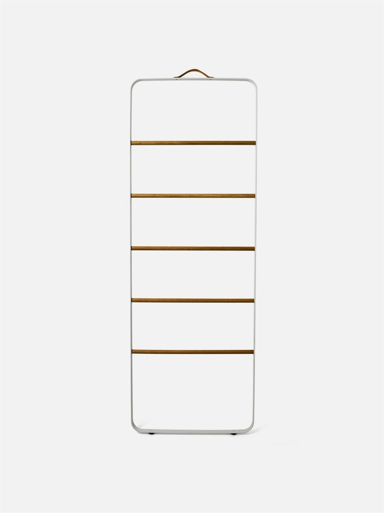 Bath Towel Ladder-Towel Ladder-Norm Architects-Powder Coated White-menu-minimalist-modern-danish-design-home-decor