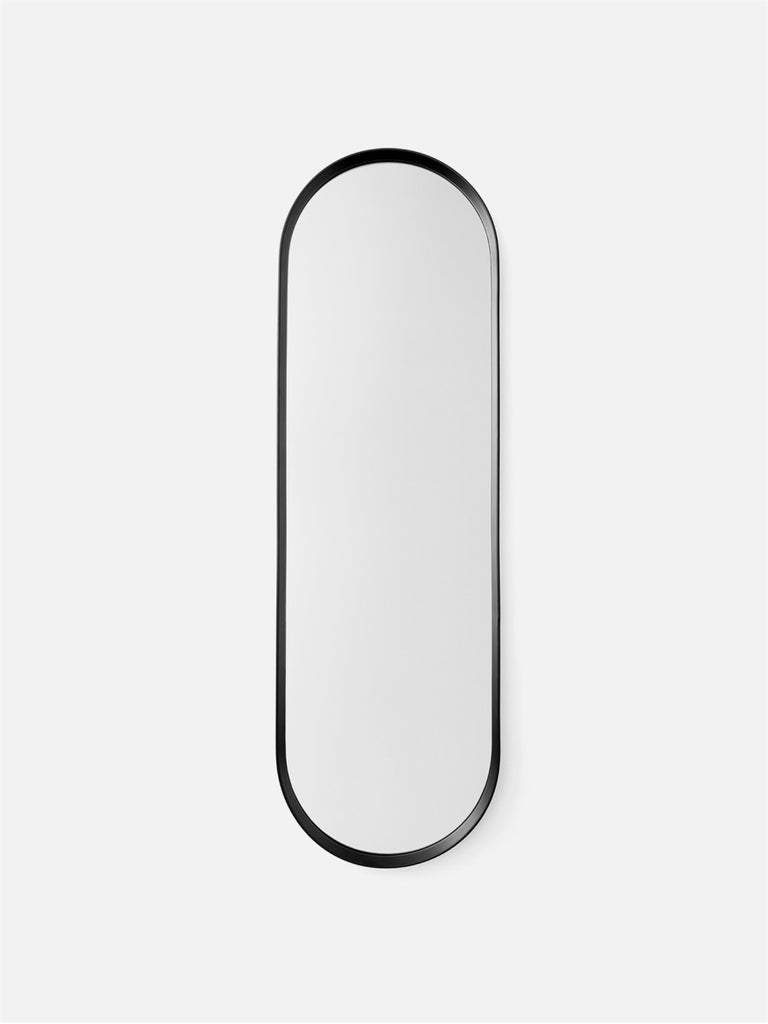 Oval Wall Mirror-Wall Mirror-Norm Architects-Powder Coated Black-menu-minimalist-modern-danish-design-home-decor