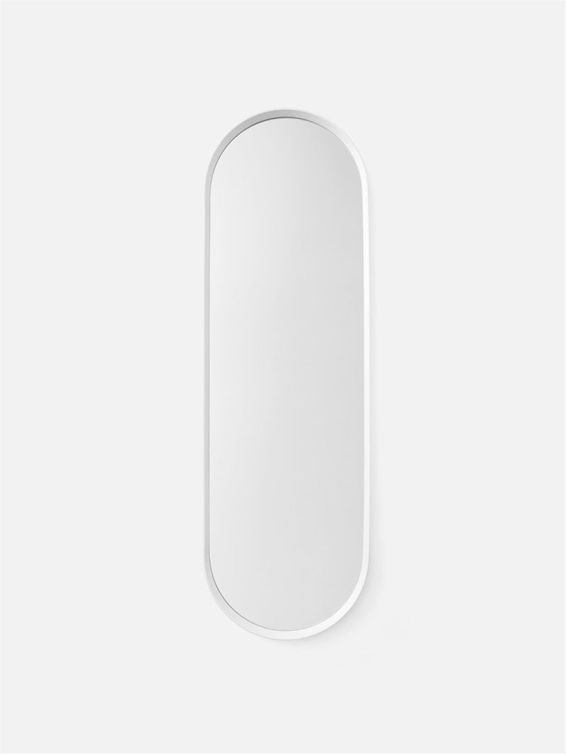 Oval Wall Mirror-Wall Mirror-Norm Architects-Powder Coated White-menu-minimalist-modern-danish-design-home-decor