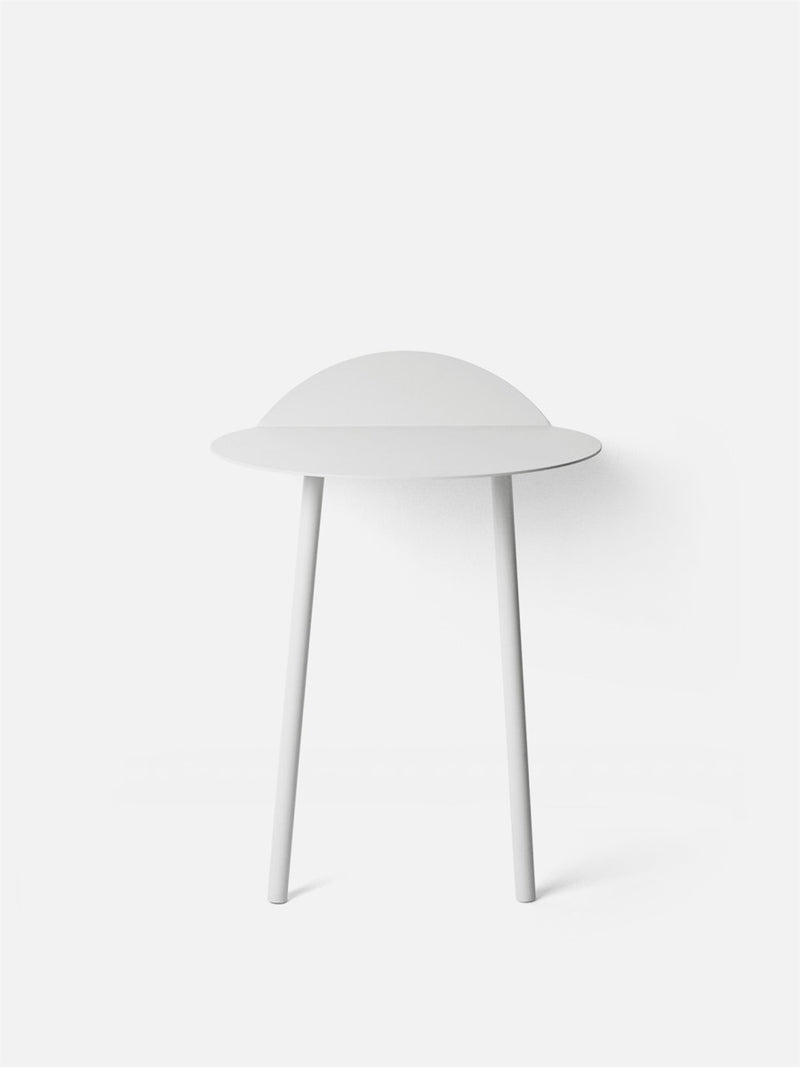 Yeh Wall Table-Side Table-Kenyon Yeh-White (Low)-menu-minimalist-modern-danish-design-home-decor